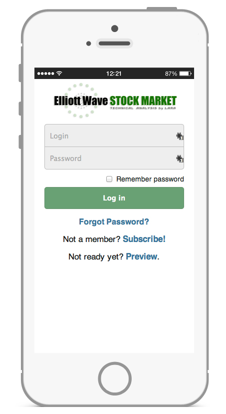Elliott Wave Stock Market - iPhone App