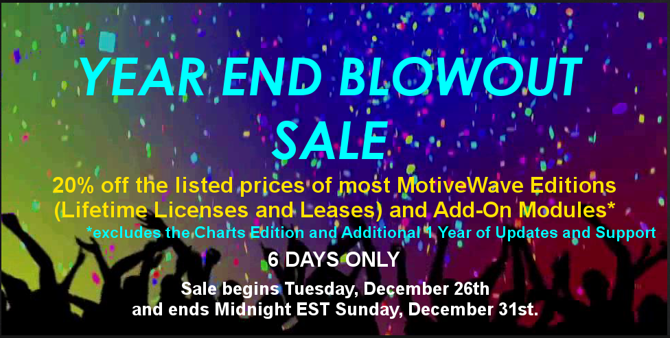 MotiveWave Trading Platform - Year End Blowout Sale