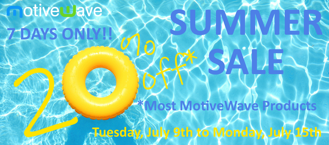 MotiveWave Summer Sale - 2019
