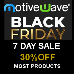 MotiveWave Software – 30% Off Black Friday Sale